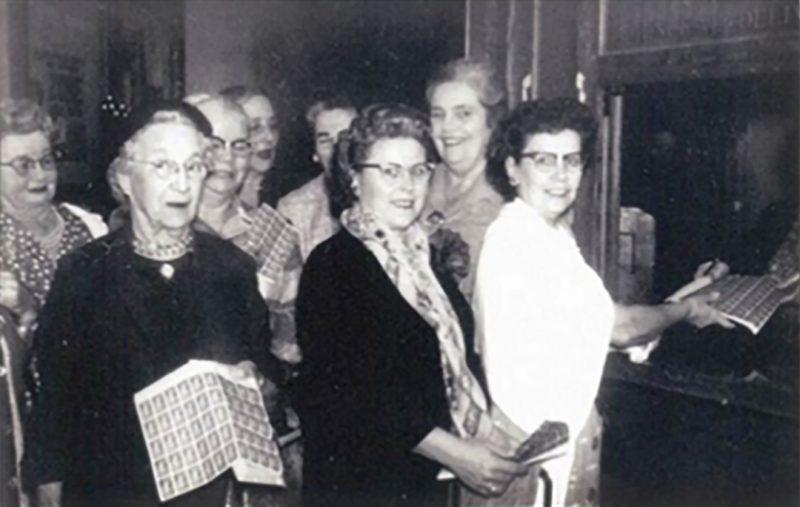 Folsom Garden Club Members 1958
